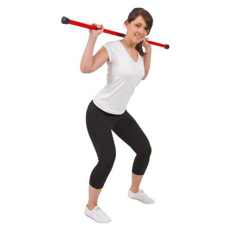 Gewichtsstange Fit Bar, 3 kg, Ř 2,8 cm x 120 cm, rot 30182