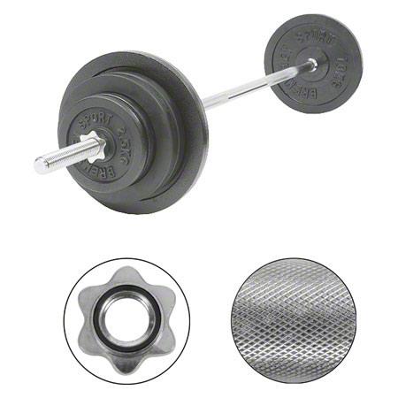 Sport-Tec Langhantel-Set, 60 kg, 11-tlg. 30192