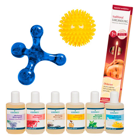 Wellness-Set, 9-tlg. 80038