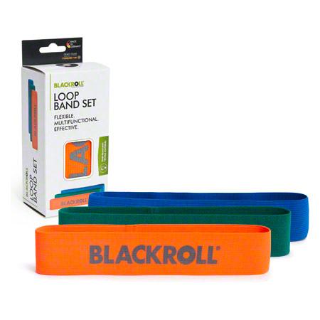 Fitness-Bänder BLACKROLL® LOOP BAND Trainings-Bänder in 3 verschiedenen