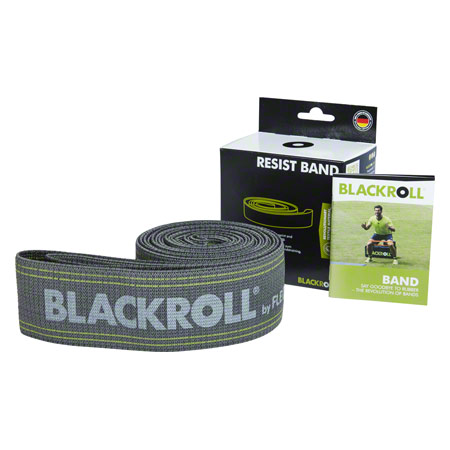 BLACKROLL Resist Band, stark, grau, 190x6 cm