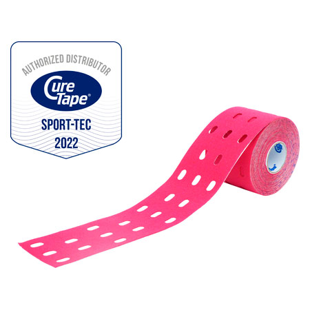 Cure Tape Punch, 5 m x 5 cm, pink