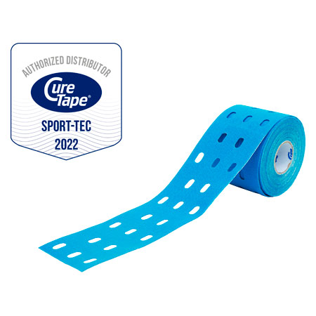 Cure Tape Punch, 5 m x 5 cm, blau
