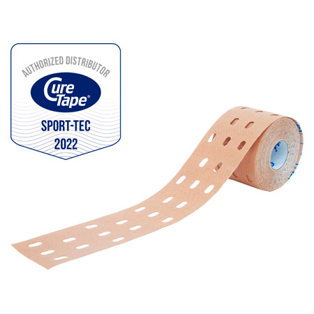 Cure Tape Punch, 5 m x 5cm, neutral