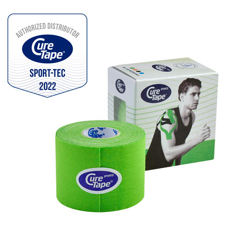 Cure Tape Sports, 5 m x 5 cm, wasserfest, limone