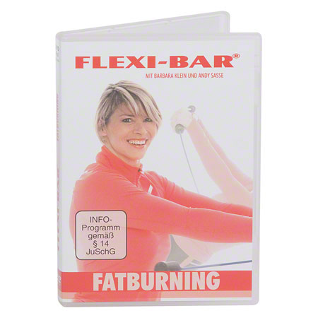DVD Flexi-Bar Fatburning, 45 Min.
