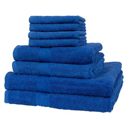 Handtuch Set 8 Tlg 4 Stück 30x30 Cm 2 Stück 140x70 Cm Und 2 Stück 100x50 Cm