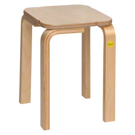 Hocker 38 aus Formholz, 27x27 cm, Sitzhöhe 38 cm