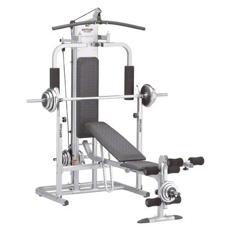 Kettler fitnesscenter classic sport kompaktstationen shop - Banc musculation kettler ...