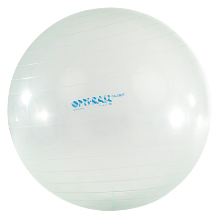 Opti-Ball Gymnastikball transparent, ø 55 cm