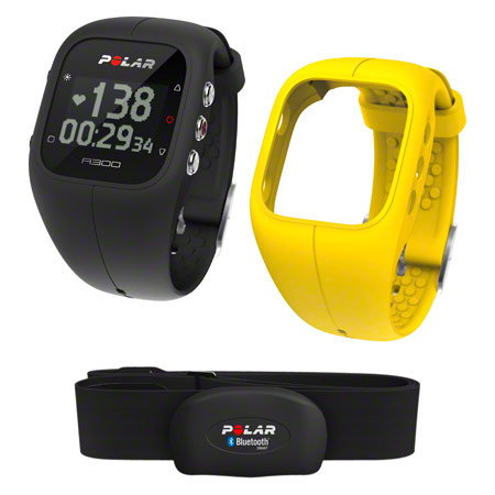 POLAR A300 HR Activity Tracker, inkl. Wechselarmband und Heart Rate Sensor
