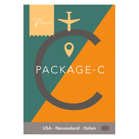 Passport Virtual Active - USB Stick, Pack C (USA, Neuseeland, Italien)