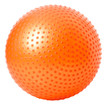 TOGU Gymnastikball Senso Push Ball ABS, Ø 85 cm, orange