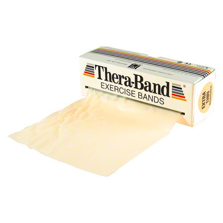 Thera-Band, 5,50 m x 12,8 cm, extra leicht, beige
