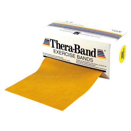 Thera-Band, 5,50 m x 12,8 cm, maxi stark, gold