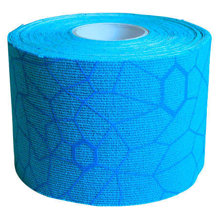 Thera-Band Kinesiology Tape XactStretch, 5 m x 5 cm, blau/blau
