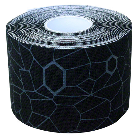 Thera-Band Kinesiology Tape XactStretch, 5 m x 5 cm, schwarz/grau