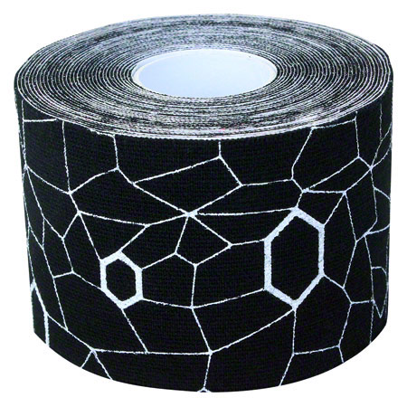 Thera-Band Kinesiology Tape XactStretch, 5 m x 5 cm, schwarz/weiß