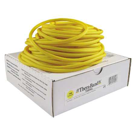 Thera-Band Tubing, 30,5 m, leicht, gelb