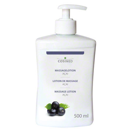 cosiMed Massagelotion Acai mit Druckspender, 500 ml
