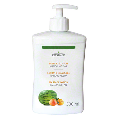 cosiMed Massagelotion Mango-Melone mit Druckspender, 500 ml