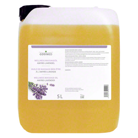 cosiMed Wellness-Massageöl Amyris-Lavendel, 5 l