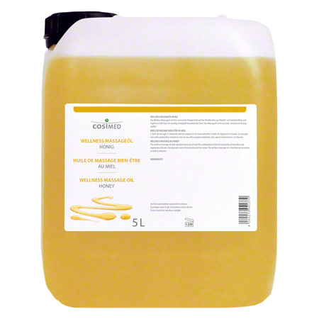 Therapiebedarf: cosiMed Wellness-Massageöl Honig, 5 l