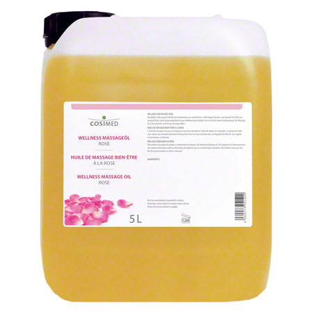 cosiMed Wellness-Massageöl Rose, 5 l