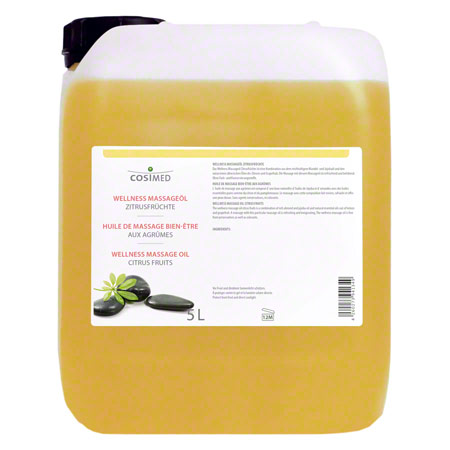 cosiMed Wellness-Massageöl Zitrusfrüchte, 5 l
