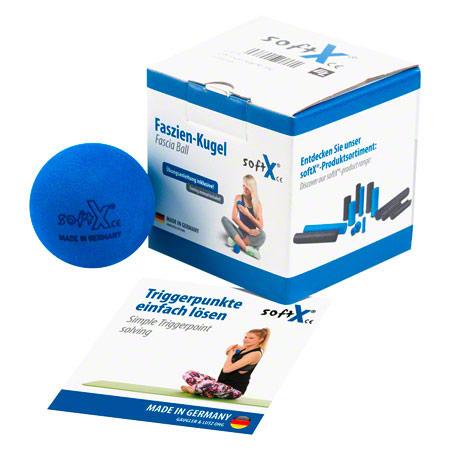 softX' Faszien-Kugel 65, ' 6,5 cm, blau