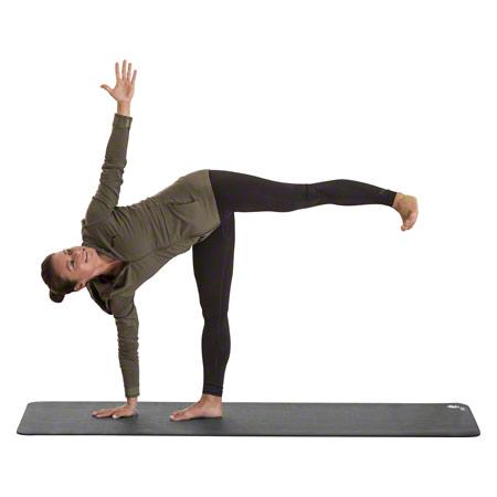 CALYANA Professional, Yoga Matte, LxBxH 185x66x0,68 cm, steingrau 03034